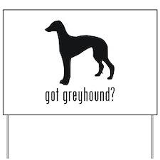 Greyhound 2 Yard Sign
