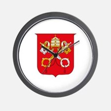 Vatican Coat of Arms Wall Clock