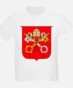 Vatican Coat of Arms Kids T-Shirt