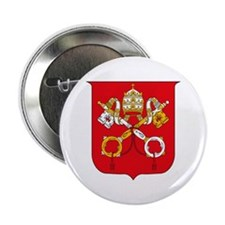 "Vatican Coat of Arms 2.25"" Button (10 pack)"