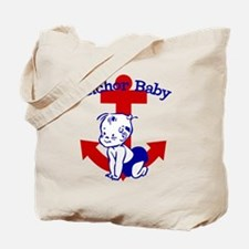 Anchor Baby Tote Bag