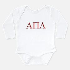 Unique Lambda Long Sleeve Infant Bodysuit