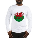 Welsh Coat of Arms Long Sleeve T-Shirt