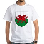 Welsh Coat of Arms White T-Shirt