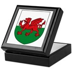 Welsh Coat of Arms Keepsake Box