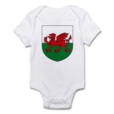 Welsh Coat of Arms Infant Creeper