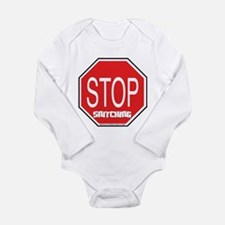 Stop The Snitching Long Sleeve Infant Bodysuit
