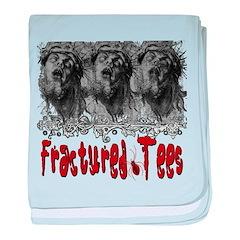 Fractured Tees See No Evil Infant Blanket