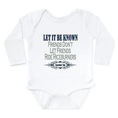 Riceburners Long Sleeve Infant Bodysuit