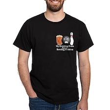 My Drinking Team Has A Bowling Problem Logo 10 Dar