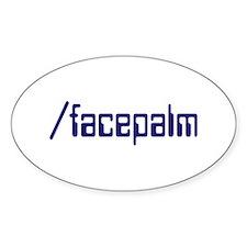facepalm Decal