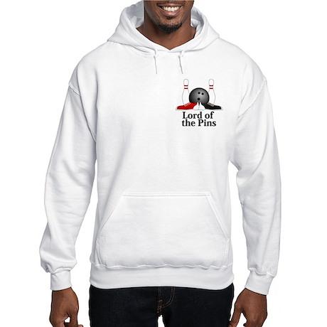 Lord Of The Pins Logo 15 Hooded Sweatshirt Design