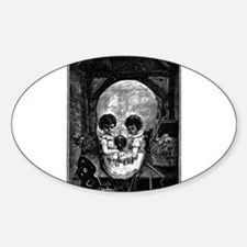 Skull Children Sticker (Oval)