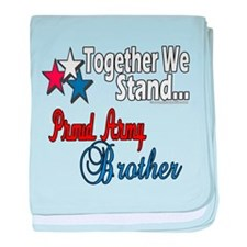 Army Brother Infant Blanket