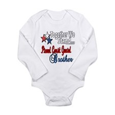 Coast Guard Brother Long Sleeve Infant Bodysuit