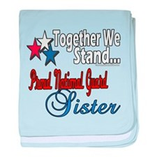 National Guard Sister Infant Blanket