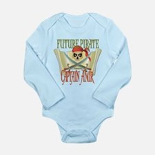 Captain Amir Long Sleeve Infant Bodysuit