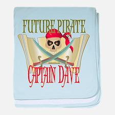 Future Pirates Infant Blanket