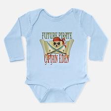 Future Pirates Long Sleeve Infant Bodysuit