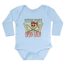 Captain Hardy Long Sleeve Infant Bodysuit