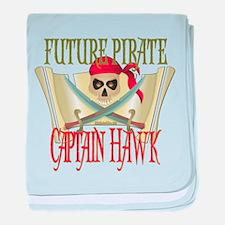 Captain Hawk Infant Blanket