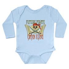 Captain Keanu Long Sleeve Infant Bodysuit