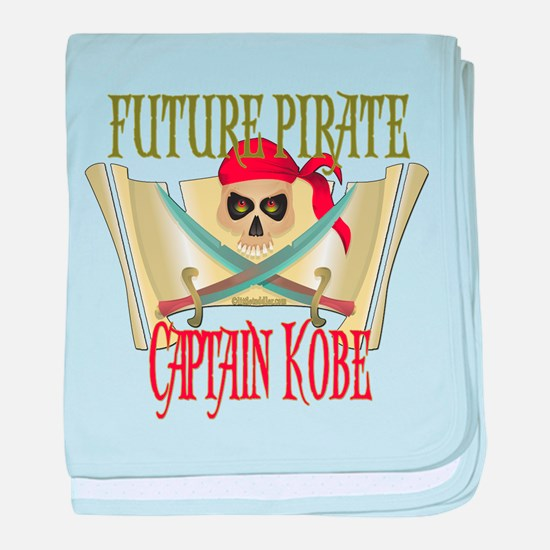 Captain Kobe Infant Blanket