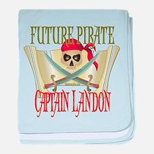 Captain Landon Infant Blanket