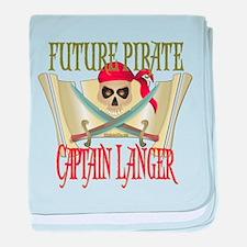 Captain Langer Infant Blanket