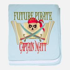 Captain Matt Infant Blanket