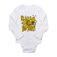 It's A Bee Thing Long Sleeve Infant Bodysuit