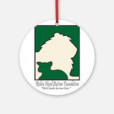 Robin Hood Autism Foundation Ornament (Round)