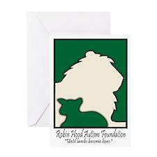 Robin Hood Autism Foundation Greeting Card