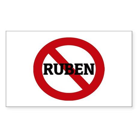Anti-Ruben Rectangle Sticker