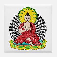 Vintage Buddah Tile Coaster