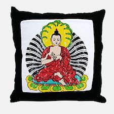 Vintage Buddah Throw Pillow