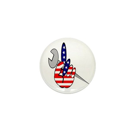 ALL AMERICAN IRONWORKERS Mini Button (10 pack)