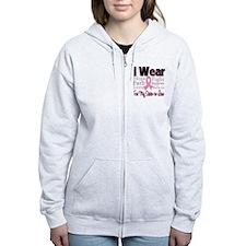 SisterInLaw Breast Cancer Zip Hoodie
