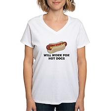 Will Work for Hotdogs Shirt