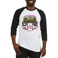 Dont Let Cancer Steal 2nd Base Baseball Jersey