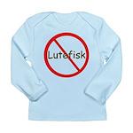 No Lutefisk Long Sleeve Infant T-Shirt