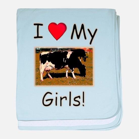 Love My Girls baby blanket