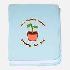 Growing For You Infant Blanket