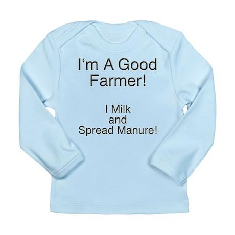 A Good Farmer Long Sleeve Infant T-Shirt