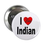 I Love Indian Button