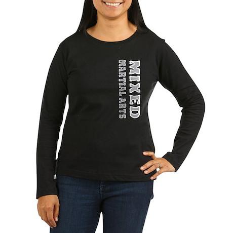 Mixed Martial Arts Women's Long Sleeve Dark T-Shir