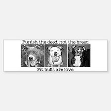 Petbulls Bumper Bumper Bumper Sticker