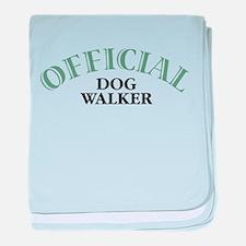Dog Walker Infant Blanket