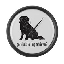 Duck Tolling Retriever Large Wall Clock