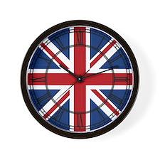United Kingdom Union Jack Flag Wall Clock